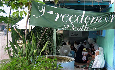 Freedom or Death: the ultimatum of the hungerstrikers on Nauru