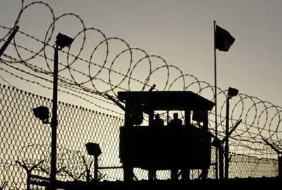 Tower at the Guantanamo Bay Detention Centre