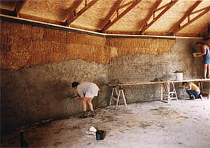Building Strawbale housing: the ultimate in insulation!