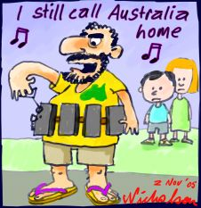 I still call Australia home